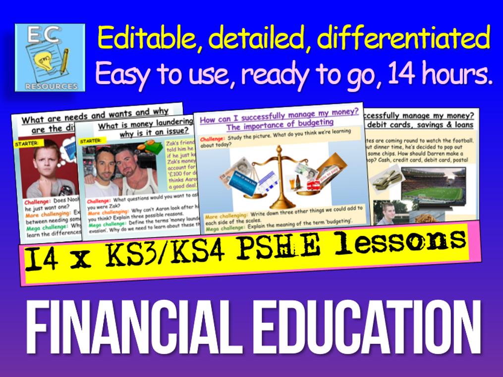 Financial Education PSHE
