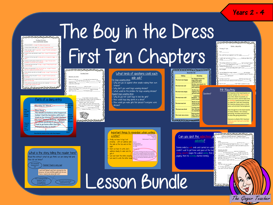 The Boy in the Dress First 10 Lessons Bundle