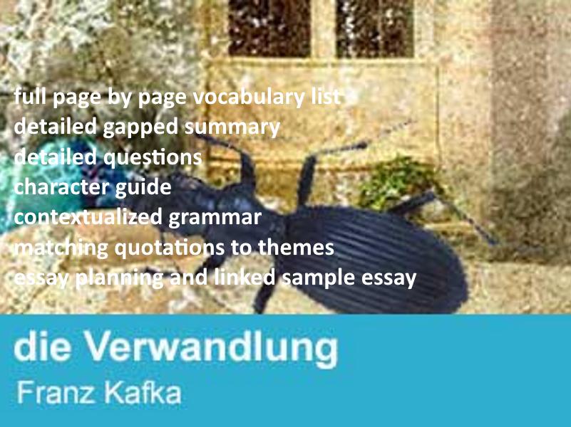 Die Verwandlung - Kafka