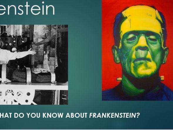 Frankenstein Philip Pullman Stage Adaptation Scheme of Work for KS3