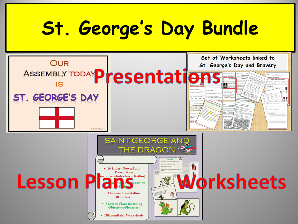 St George's Day, Assembly, St. George and the Dragon Bundle