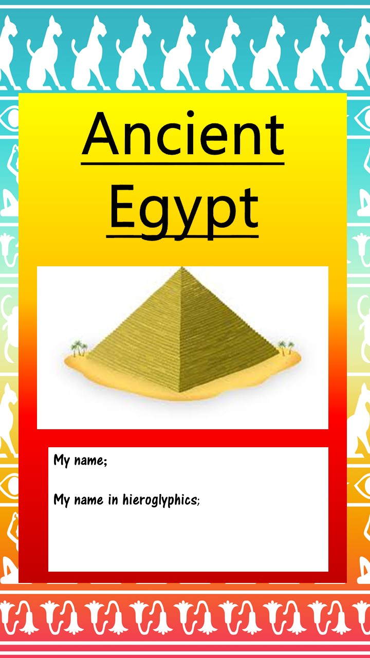 Egypt Interactive Notebook