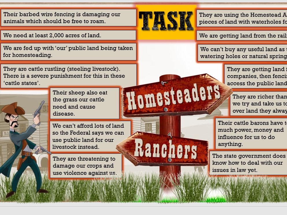 Edexcel GCSE (1-9) History American West Lessons 1-13