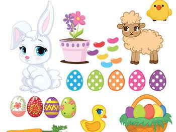 Easter Clip Art Easter Rabbit Clip Art