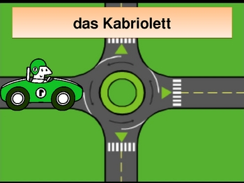 Fahrzeuge (Vehicles in German) power point