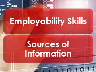 Employability/Work Skills: Sources of Information