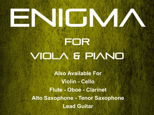 Enigma - Viola & Piano (Score & Parts)