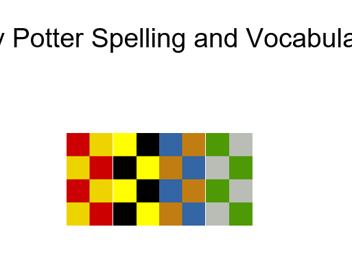 Spelling and Vocabulary - Harry Potter and the Philosopher's Stone Chapter 2