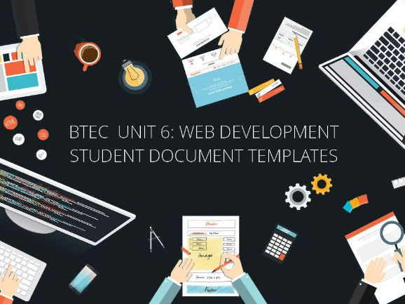 Document Templates for BTEC IT Level 3 NQF - Unit 6: Website Development