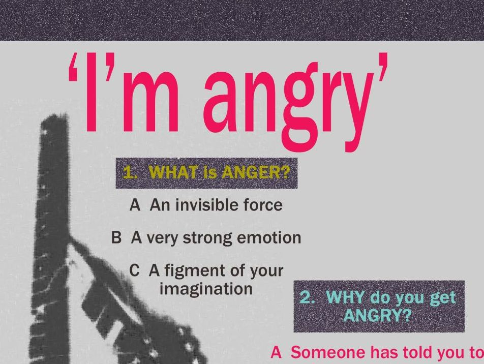 Getting Angry and Violence quizzes and posters, Abuse by Text Quiz and Sexual Harassment Hot Seating Lesson Bundle