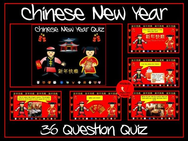 Chinese New Year Quiz