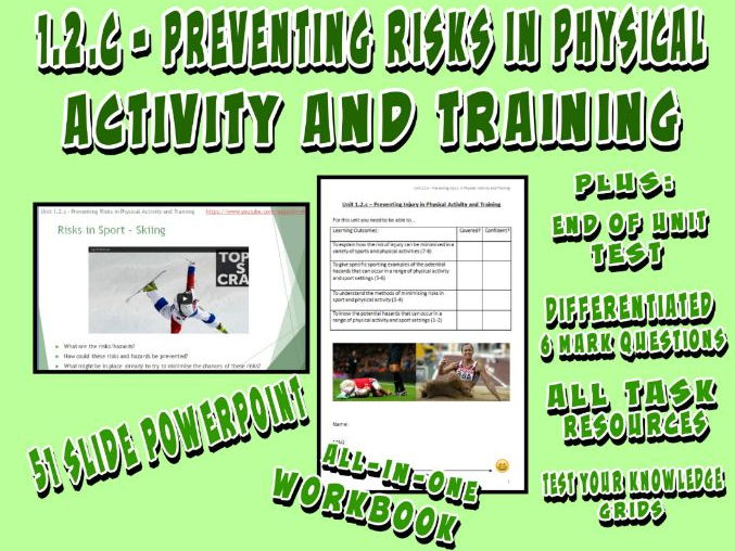 OCR GCSE PE 9-1 (2016) 1.2.c - Preventing Injury in Physical Activity and Training - Unit of Work