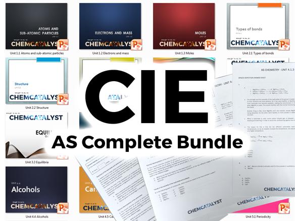 CIE AS Chemistry Complete Bundle