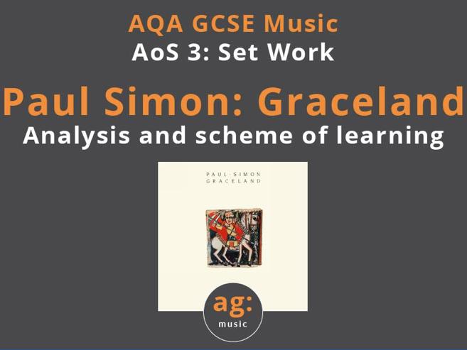 AQA GCSE Music: Paul Simon - Graceland