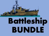 Batalla naval Battleship in Spanish Bundle