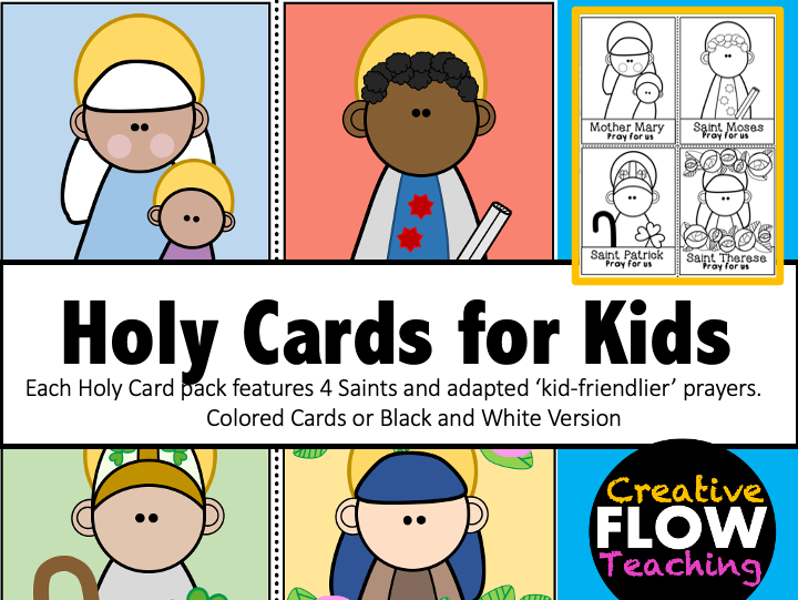 Holy Cards for Kids