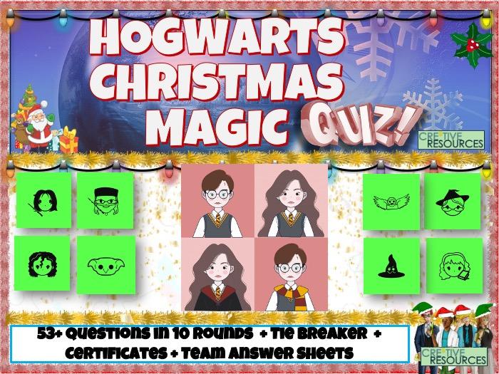 Harry Potter Christmas English KS2 Quiz