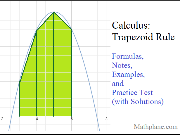 Calculus Trapezoid Rule