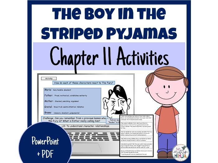 The Boy in the Striped Pyjamas     Chapter 11 Activities