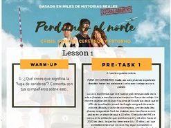 """CRISIS AND YOUTH THROUGH """"PERDIENDO EL NORTE"""" + MOVIE INCLUDED"""