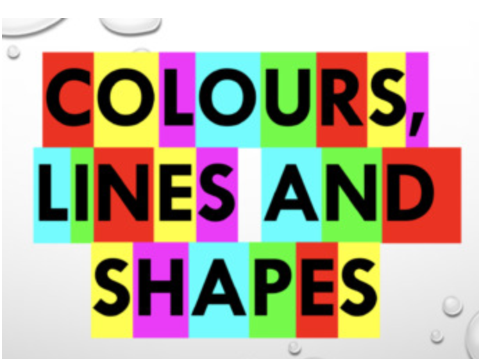 French - Colours, Lin es and Shapes PPT