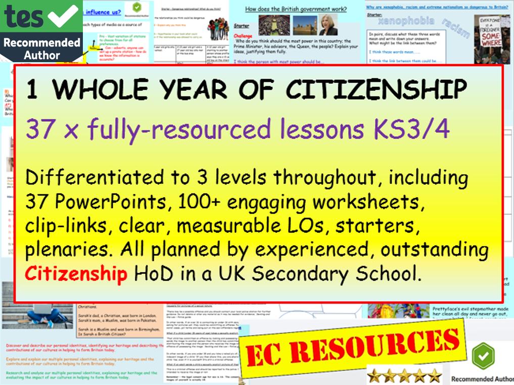 CITIZENSHIP: Citizenship- 1 Year's Citizenship