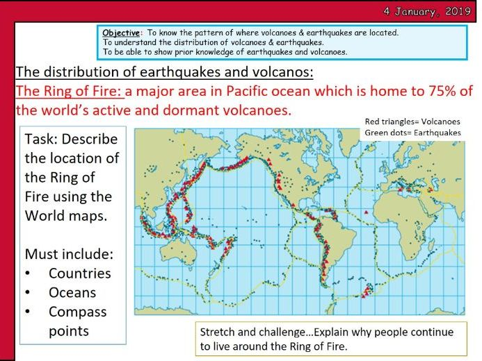 ENTIRE UNIT- KS4 Geography- Natural Hazards
