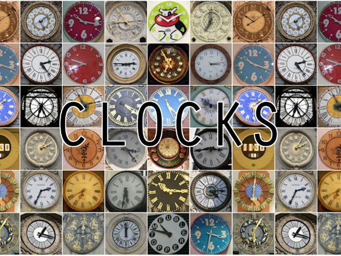 Lessons 2 &3. Designing a clock: initial ideas and developing a template