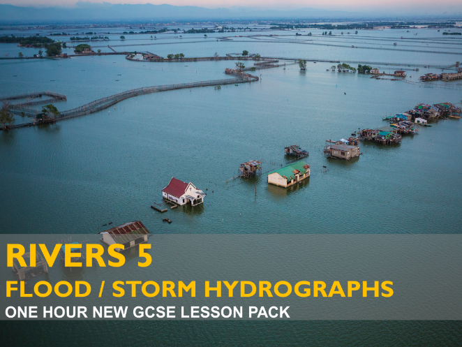 Rivers 5 - Flood / Storm Hydrographs - GCSE (2016)