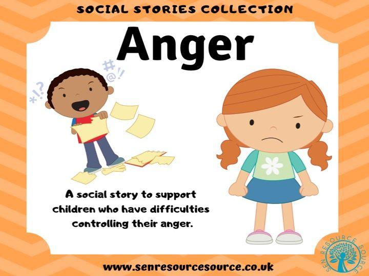 Anger social story
