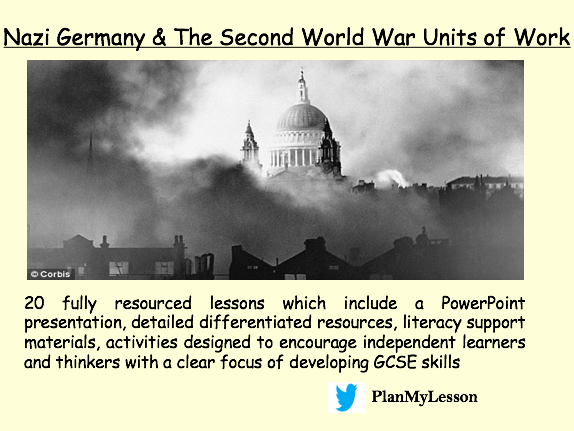 Nazi Germany & World War Two Units of Work