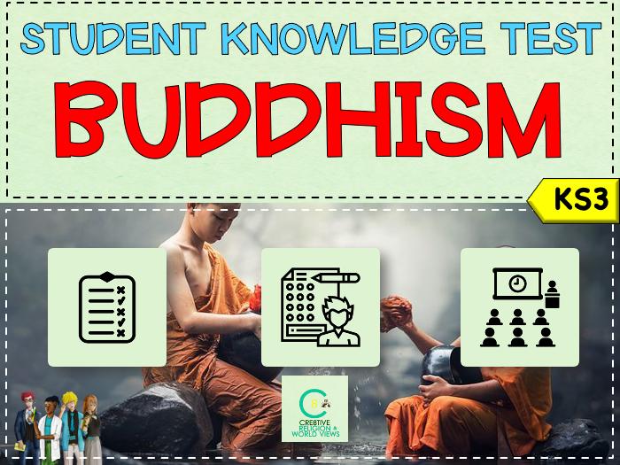 Buddhism KS3 Topic Test