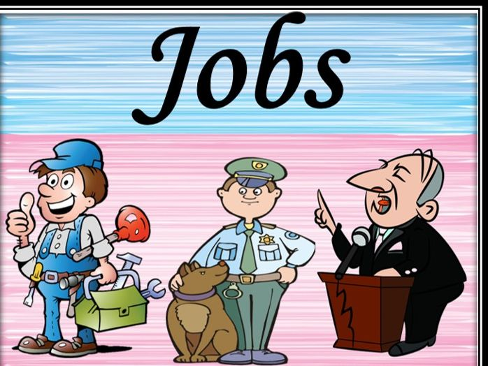 Jobs/Professions. Bundle.