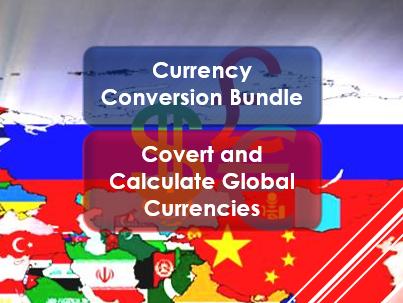 Money Skills: Currency Conversion Bundle