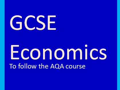 AQA GCSE Economics-Economic Foundations