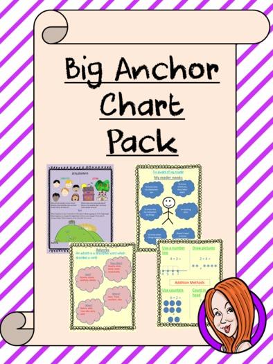 Big Anchor Chart Pack
