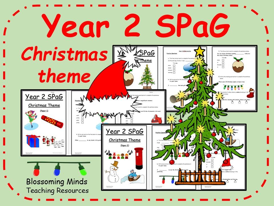 Year 2 Christmas SPaG