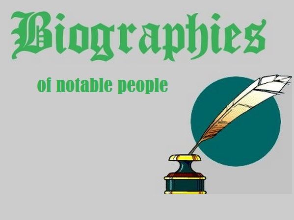 Biographies of Notable People - Reading Comprehension Worksheets Bundle