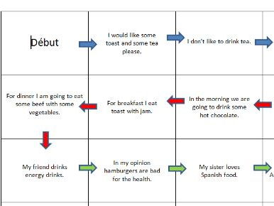 Speaking board games Y8 Hobbies / Food and drink