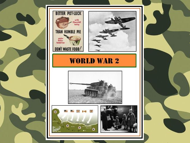 Second World War Complete Topic Unit