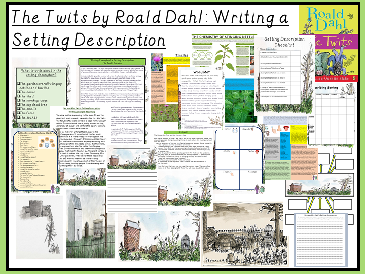 The Twits by Roald Dahl: Writing a Setting Description