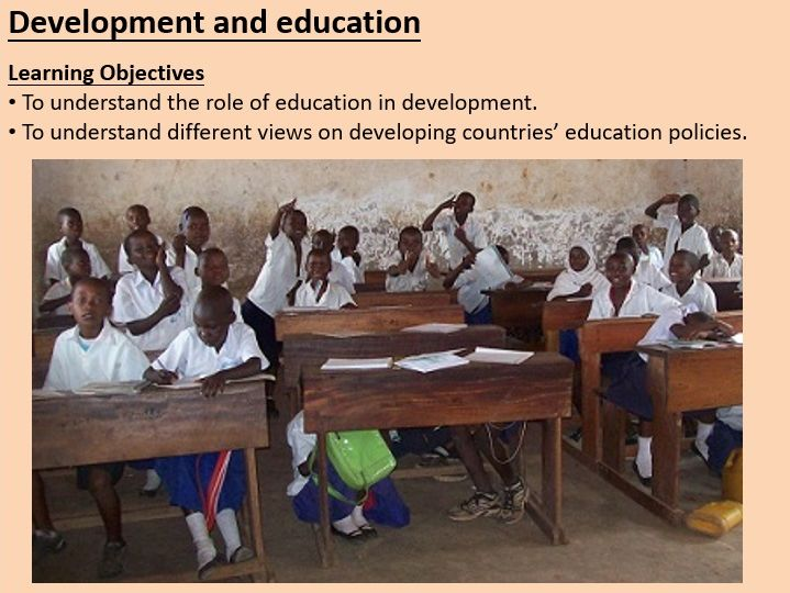 Global Development: Education ppt