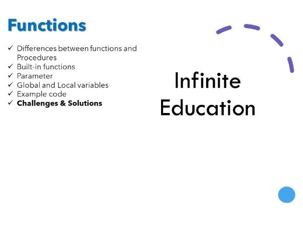 Python Functions - Including challenges and solutions