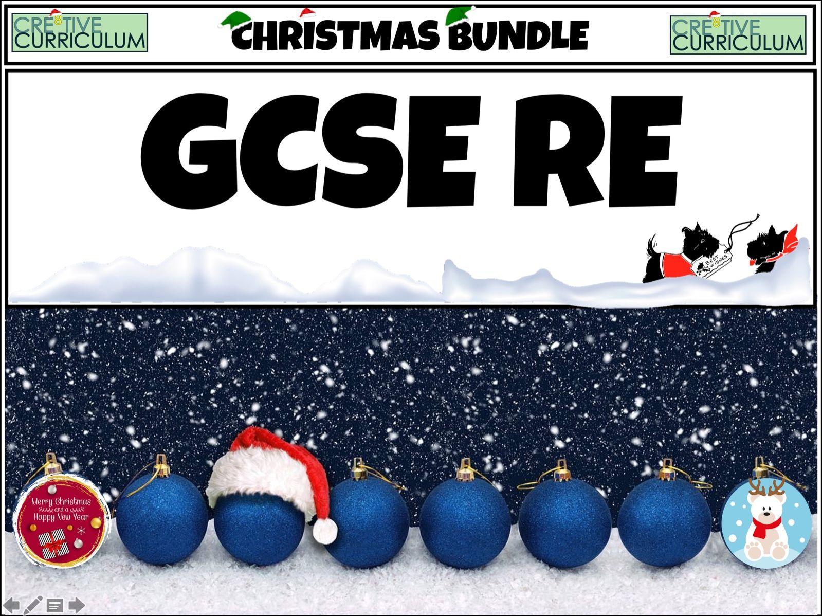 RE Christmas Bundle