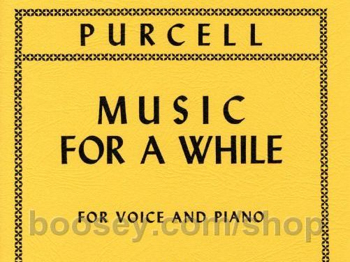 Purcell Music for a While