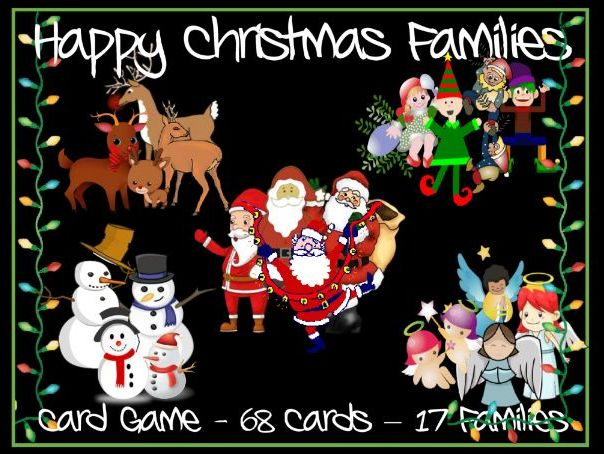 Christmas Happy Families