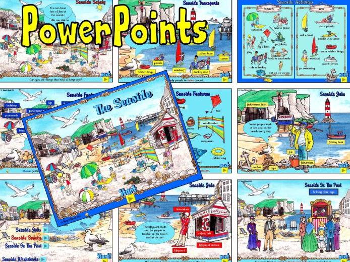 Seaside – PowerPoints