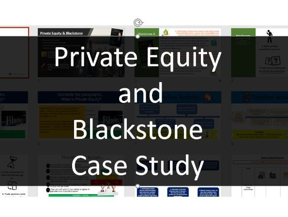 Business Studies: Private Equity & Blackstone