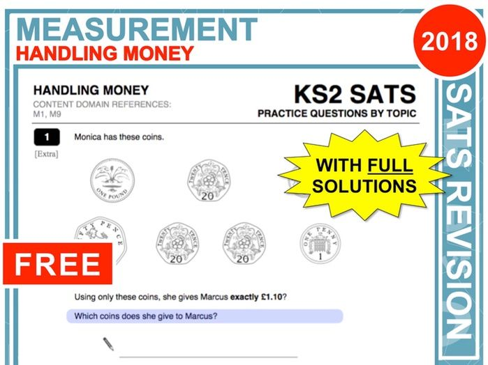 Y6 Maths SATs Revision (Handling Money)