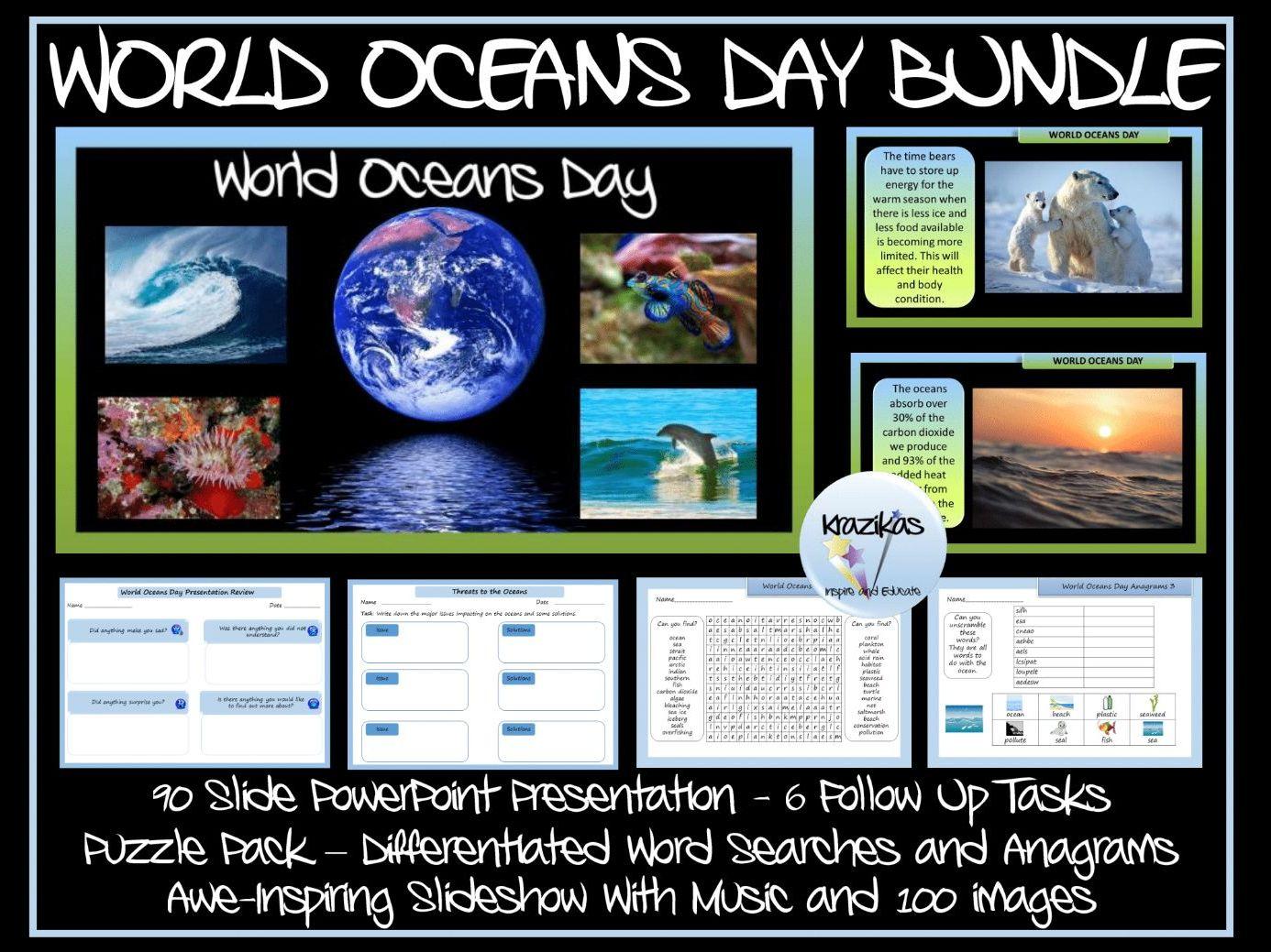 World Oceans Day Bundle